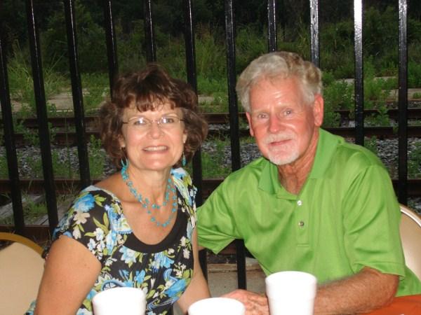 Tammy Baldwin Lawing and husband