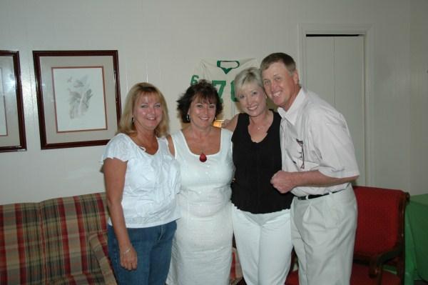 Bonnie Pike, Cherry Granada, Melinda and Floyd Branch